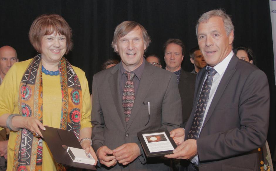 Mention d'honneur pour Jean-Luc Filiatreault