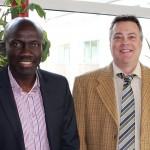 Le Collège reçoit la visite d'un représentant<br>de l'Institut de Management et entrepreneuriat du Cameroun