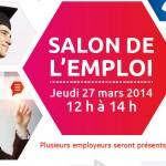 Salon de l'emploi le 27 mars prochain