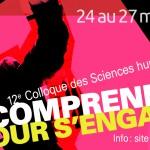 12e Colloque des Sciences humaines<br>24 au 27 mars 2014