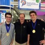 Deux étudiants médaillés d'or aux Olympiades<br>de la formation professionnelle et technique
