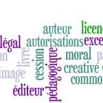 La déclaration de droits d'auteur<br>sous la responsabilité du Service de l'imprimerie