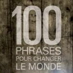 Samaël Beaudoin publie<br>100 phrases pour changer le monde