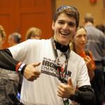 Des étudiants de SPU prêtent main forte<br>à Ironman 2014
