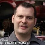 Dave Boisvert, enseignant en SPU<br>témoigne dans un documentaire