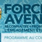 Forces AVENIR :<br>reconnaissez l'engagement des étudiants!