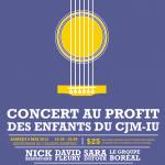 Concert de concurrents de « La Voix »<br>samedi 9 mai, 19 h 30, Auditorium du Collège