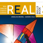 Angelika Brunel publie Real English 1 et 3
