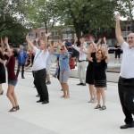 Flashmob de la rentrée!<br>une initiative de l'équipe santé
