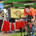 1 200 $ amassés pour les équipes sportives<br>grâce au 1er défi vélo des Indiens