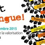 On sort la langue!<br>Semaine de la valorisation du français – 2 au 6 novembre