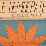 Journal Le Démocrate en 1968<br>capsule historique – le saviez-vous?