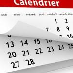 Vacances, fériés et disponibilités 2017-2018<br>pour enseignants