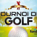 Tournoi de golf de la Fondation<br>8 juin au golf Le Champêtre