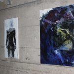 Inauguration du Salon du personnel<br>Exposition d'oeuvres de Jocelyne Hénen