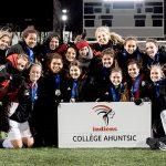 Les Indiennes remportent l'argent au championnat canadien de soccer féminin
