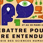 Débattre pour être entendus<br>Participez au 15e colloque des Sciences humaines