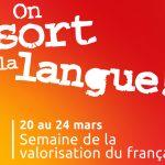 Semaine de valorisation du français<br>20 au 24 mars 2017