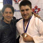 Championnats canadiens de judo :<br>un employé du Collège remporte l'argent
