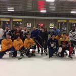 Hockey sur glace et beaucoup de plaisir!