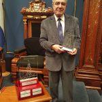 Jean Karam honoré par l'Assemblée nationale
